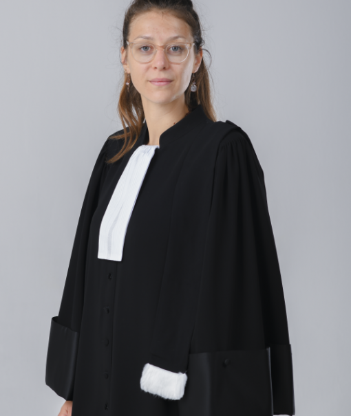 Robe d'avocat - L'audacieuse