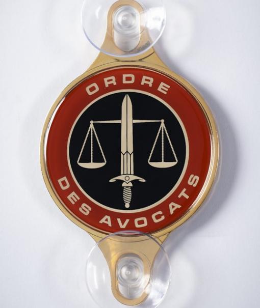 Macaron Ordre des Avocats