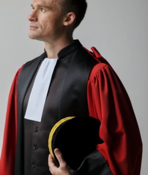 Robe de magistrat rouge  - La Classique