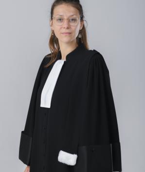Robe d'avocat - La Caresse