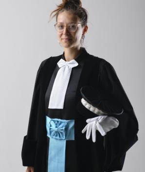 Robe de juge consulaire - TC - La Douceur de laine