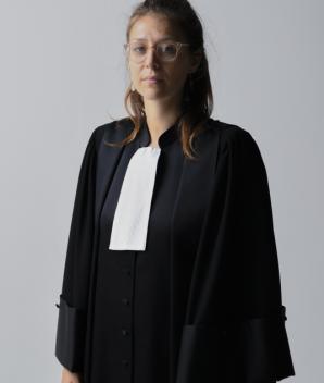 Robe de magistrat - La Caresse
