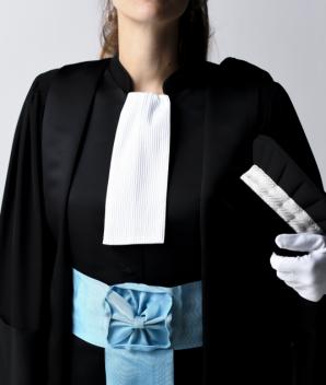 Robe d'Auditeur de justice - ENM - La Caresse