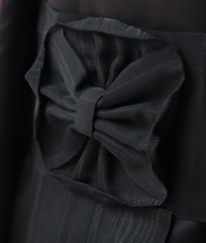 Ceinture moirée noire