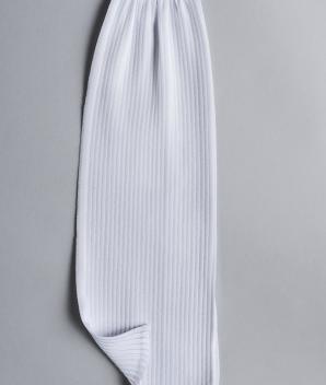 Polyester plissé fin Madame