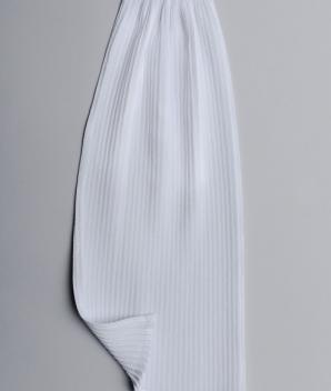 Rabat polyester plissé fin