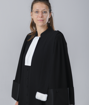 Robe d'avocat - La Chic'issime